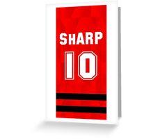 Patrick Sharp - Chicago Blackhawks Greeting Card