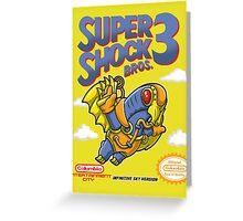 Super Shock Bros 3 Greeting Card