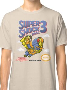 Super Shock Bros 3 Classic T-Shirt