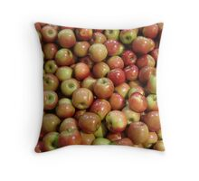 sweet apples Throw Pillow