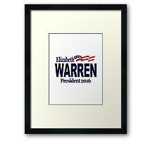 Warren 2016 Framed Print
