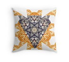 HypnocatV6 Throw Pillow