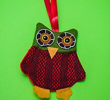 Cute owl decoration by lalylaura
