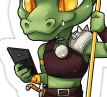 Texts from Kobold Sticker