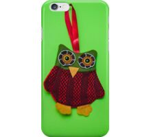Cute owl decoration iPhone Case/Skin