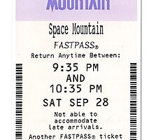 Space Mountain fastpass travel mug by Emily2015
