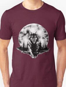Wolf - Moon T-Shirt