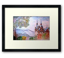 Peles Castle, Prahova County, Romania - all products Framed Print