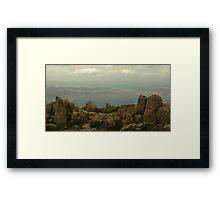 Mount Wellington to the Sea Framed Print