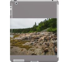 Low Tide - Walking on the Bottom of Saint Lawrence River iPad Case/Skin