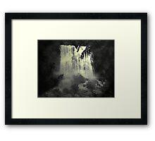 Midnight Falls Framed Print