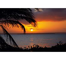 AFRICAN SUNSET - MOZAMBIQUE Photographic Print
