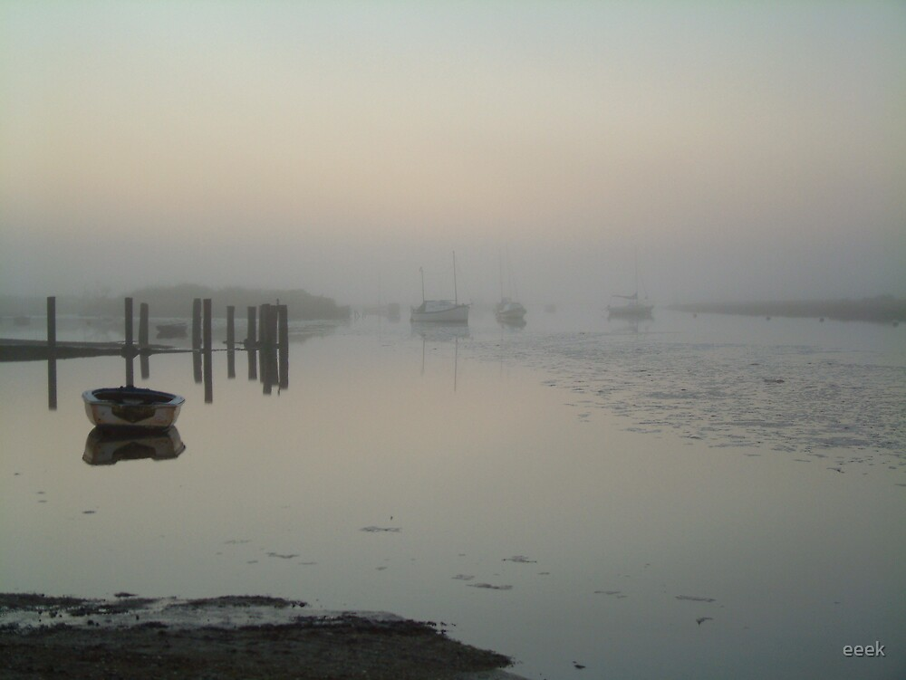 Sea Mist at Burnham Overy, Norfolk by eeek