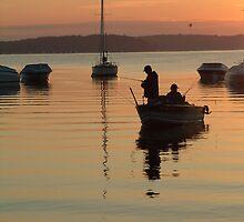 Lake Geneva Wis. 5 am by William Reed