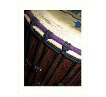 Drum Art Print