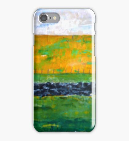 Northumbrian Meadow iPhone Case/Skin