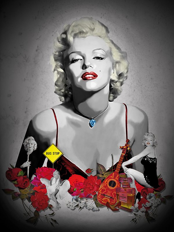 MARILYN_BLACK by J Velasco