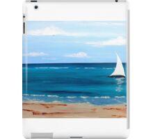 White Sail 1 iPad Case/Skin