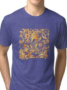 golden leaves Tri-blend T-Shirt