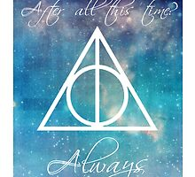 Harry Potter Deathly Hallows Always by scarletprophesy