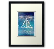 Harry Potter Deathly Hallows Always Framed Print