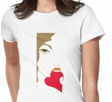 heart hunter Womens Fitted T-Shirt