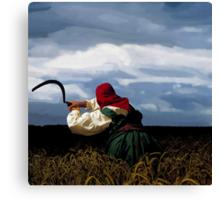 Depeche Mode : A Brocken Frame in Paint  -1- Canvas Print