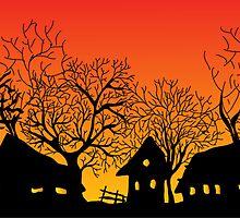 sunset village by VioDeSign