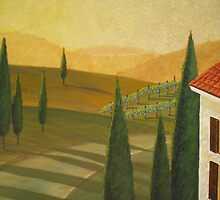 Tuscany Vinnicola I by Herb Dickinson