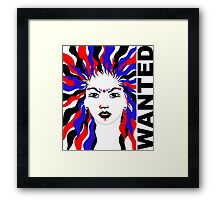 wanted!  Framed Print