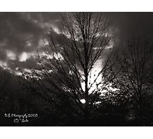 DULL SUNSET Photographic Print