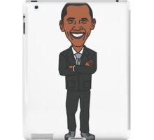 Barack Obama T-Shirt - Cartoon Barack Obama iPad Case/Skin