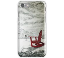 Red Rocker iPhone Case/Skin