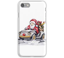 Santa's New Sleigh iPhone Case/Skin