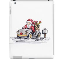 Santa's New Sleigh iPad Case/Skin