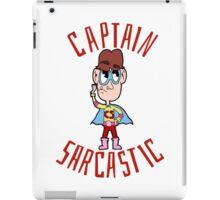 Captain Sarcastic iPad Case/Skin