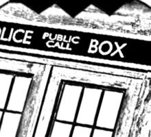 Doctor Who Ornament Sticker