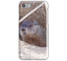 Mama Groundhog iPhone Case/Skin
