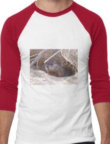Mama Groundhog Men's Baseball ¾ T-Shirt