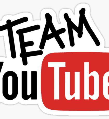 Team YouTube Sticker