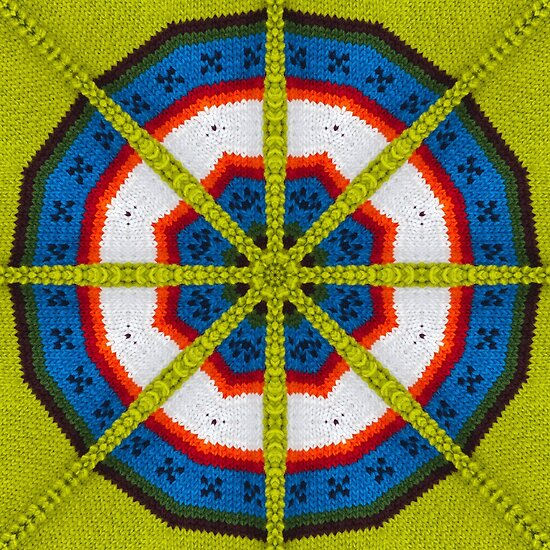 Knitted Target by Yampimon