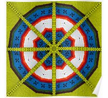 Knitted Target Poster