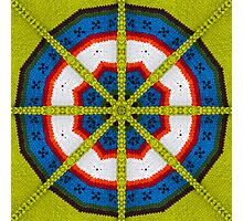 Knitted Target Photographic Print