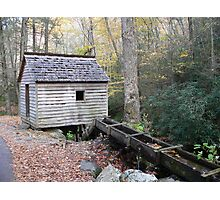 Gristmill In The Mountains Photographic Print