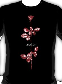 Depeche Mode : Violator Paint LP -Square for Print- T-Shirt
