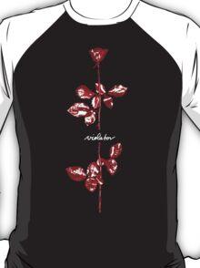 Depeche Mode : Violator Paint LP -Square for Print- T-Shirt