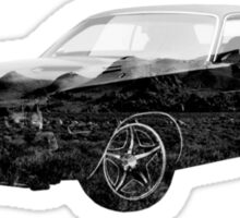 American muscle Sticker