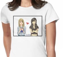 Carmilla and Laura from Carmilla Web Series Womens Fitted T-Shirt