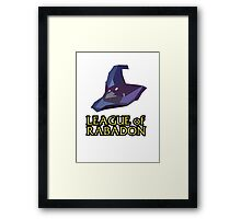 League of Rabadon Framed Print