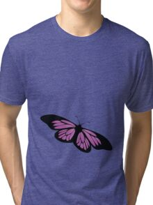 Colored butterfy 5 Tri-blend T-Shirt